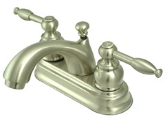4-Inch Centerset Faucet, Nickel