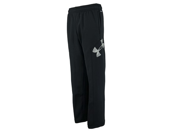 Boy's UA Storm Armour Fleece Big Logo Pants 92428683-6acf-489a-95b9-e203aeffddc0