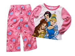 Princess 2-Piece Fleece Set (2T-4T)