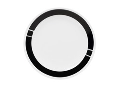 Urban Black Dinner Plates Set of 6