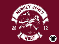 2012 Woot Monkey Games - Cranberry