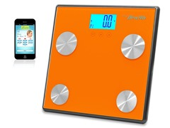 Pyle Bluetooth Digital Scale-Orange