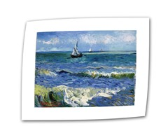 Seascape at Saintes Maries  - Rolled