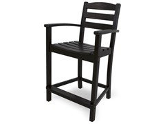 La Casa Cafe Counter Chair, Black