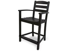 La Casa Cafe Counter Chair, Black