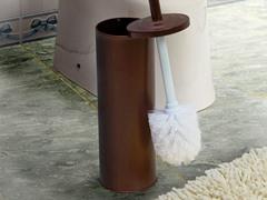 Vanderbilt Bronze Steel Toilet Brush With Holder