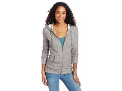 Roxy Juniors North Star Fleece 3 Hoodie, Grey