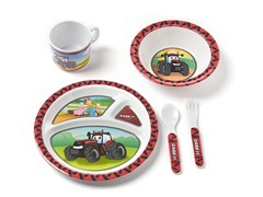 5-Piece Melamine Set - Big Red