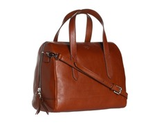 Fossil Sydney Satchel, Brown
