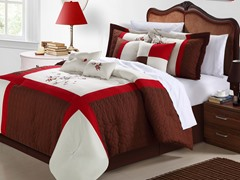York 8Pc Set-Brown-2 Sizes