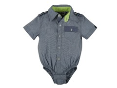 Chambray Short Sleeve Shirtzie (3M-24M)