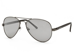 Perry Ellis Aviator 8 Gunmetal/Grey