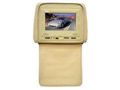 "Headrest with Built-in 7"" TFT/LCD Monitor"