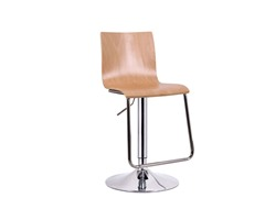 Lynch Wood Modern Bar Stool Set of 2