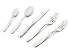 18/10 20pc Flatware Set - Satin Loft