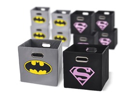 Superhero Storage Bins 5-Pack- 11 Colors