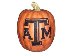 Resin Pumpkin - Texas A&M