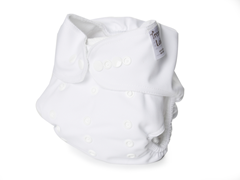 Adjustable Cloth Diaper - White