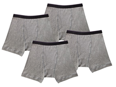 Kings Underwear Boxer Briefs, Grey