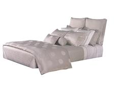 Pebble Coverlet 6 Piece Set-Queen
