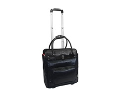 Rolling Laptop Case-Black