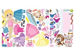 Peel & Play Combo Set - Doll/Pet