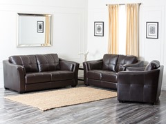 Clinton Leather 3-Pc Set