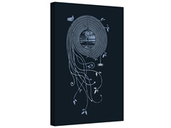 New from Entropy Records Gallery Wrapped Canvas 2-Sizes
