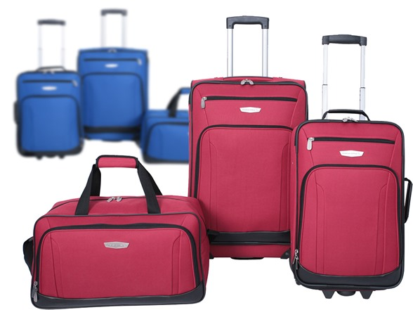 3 piece luggage set your choice for American home choice