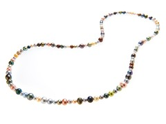 Multicolor Freshwater Pearl Necklace,36""