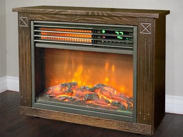 Lifesmart Infrared Fireplace