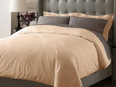 Hotel Duvet Cover Set - Taupe - 3 Sizes