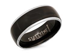 Titanium Two-Tone Ring