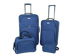 Moda 4-Piece Luggage Set - Blue