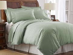 500TC 100% Pima Cotton Pillowcases-Standard-Sea Foam