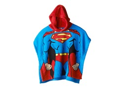 Superman Hooded Poncho - Toddler-Youth