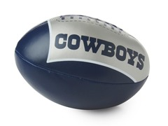 "Dallas Cowboys 4"" Softee Football"
