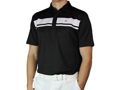 Travis Mathew Big Timer Polo, Black
