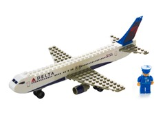 Delta Airlines 55-Pc Build-a-Jet