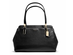 Madison Leather Kimberly Carryall, Black