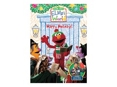 Elmo's World Happy Holidays DVD