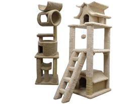 New Cat Condos- Cat Trees, 2 Styles!