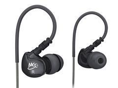 M6 In-Ear Sport Earbuds - Black