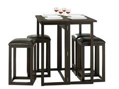 Leeds 5-PC Collapsible Pub Set