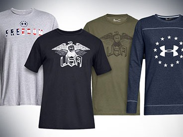 Under Armour Freedom Apparel for Men & Women