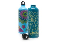 Gaiam Random Aluminum Bottle 2-Pack