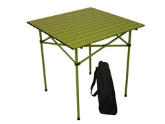 Tall Aluminum Table, Green