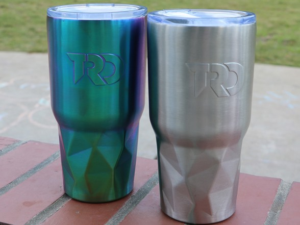 Twisted Root Design 30 oz Tumblers WT132157A