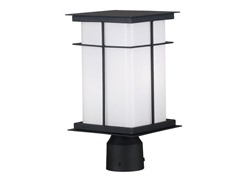 Wrightson Post Lantern, Black
