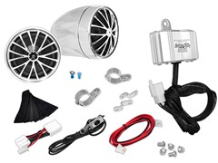 400W Motorcycle Weatherproof Speaker System